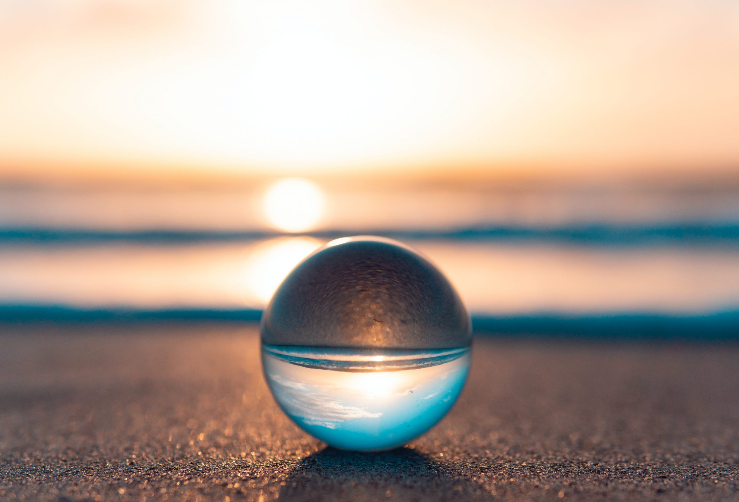 Sphère avec reflet